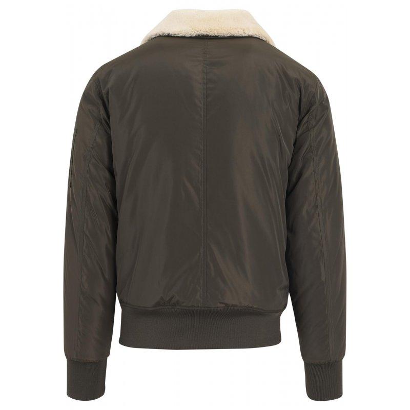 ... Urban Classics - Pilot Bomber Jacket olive ... 41ed5a2fe174