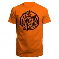 187 Stra�enbande - Logo T-Shirt Orange/schwarz