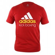 Adidas Community Kick Boxing T-Shirt red/white