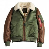 Alpha Industries - B3 M Fliegerjacke sage-green