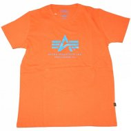 Alpha Industries - Basic Logo Shirt orange