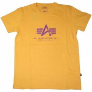 Alpha Industries - Basic Logo Shirt yellow