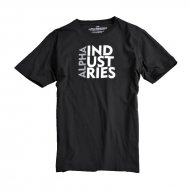 Alpha Industries - Basic Print 20 T-Shirt schwarz