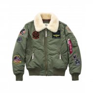 Alpha Industries Bomberjacke Injector III Patch sage-green