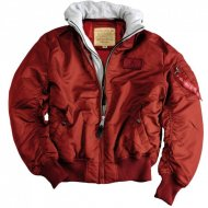 Alpha Industries Bomberjacke MA-1 D-Tec burgundy