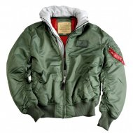 Alpha Industries Bomberjacke MA-1 D-Tec sage-green