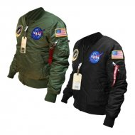 Alpha Industries Bomberjacke MA-1 VF NASA Damen...