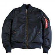 Alpha Industries Bomberjacke MA-1 VF PM rep. blue