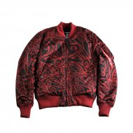 Alpha Industries Bomberjacke MA-1 VF Tonga burgundy