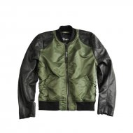 Alpha Industries - Dirt Bike Jacke sage-green/black