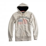 Alpha Industries - Flag Zip Hoodie