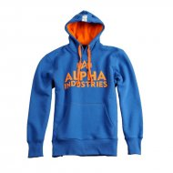 Alpha Industries Hoodie Foam Print Royal