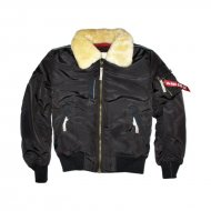 Alpha Industries Injector III Fliegerjacke vintage brown