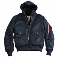 Alpha Industries - MA-1 D-Tec VF Bomberjacke rep. blue