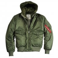 Alpha Industries - MA-1 D-Tec VF Bomberjacke sage-green