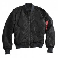 Alpha Industries - MA-1 Quilted Wendejacke schwarz