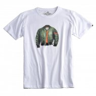 Alpha Industries - MA-1 T-Shirt wei�