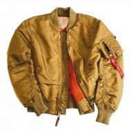 Alpha Industries - MA-1 VF 59 Bomberjacke gold