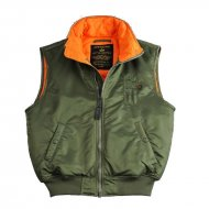 Alpha Industries - MA-1 Vest / Weste sage-green
