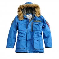 Alpha Industries - Mountain Winterparka royal
