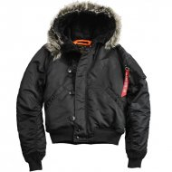 Alpha Industries - N2B VF 59 Winterjacke schwarz