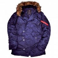 Alpha Industries - N3B Winterjacke rep.blue