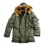 Alpha Industries Polar Jacke Dark Green