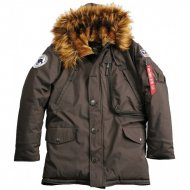 Alpha Industries - Polar Winterjacke vintage brown