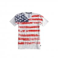 Alpha Industries US T-Shirt white