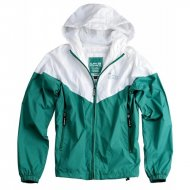 Alpha Industries Windbreaker Helix II green/white