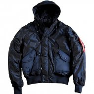 Alpha Industries Winterjacke Hunter rep. blue
