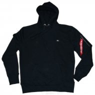 Alpha Industries - X-Fit Basic Hoodie schwarz