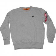 Alpha Industries - X-Fit Basic Sweater grau