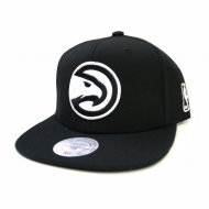 Atlanta Hawks Black and White Team Base Snapback |...