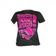 Bass, Techno, Disco Girly Shirt schwarz/lila/pink