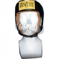 Benlee Rocky Marciano Leather Headguard OPEN FACE black