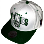 Boston Celtics Snapback Pinwheel wei� | NBA | Mitchell &...