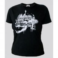 Brennt den Club ab - Girly Shirt