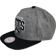 Brooklyn Nets Snapback Assist Heather Wool | NBA |...
