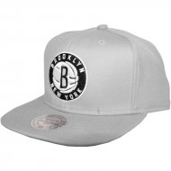 Brooklyn Nets Snapback Wool Solid grey | NBA | Mitchell...