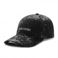 Cayler & Sons Curved Cap Series black camo/white