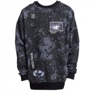 Cayler & Sons Sweater Series Oversized Crewneck black...