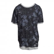 Cayler & Sons T-Shirt Deuces Long Layer black/camo...