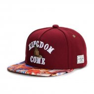Cayler & Sons WL Kingdom Snapback Cap maroon/gold/mc