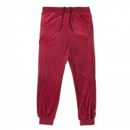 Chabos IIVII Track Pants Core Velour burgundy