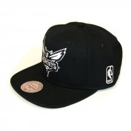 Charlotte Hornets Black & White | NBA | Mitchell...