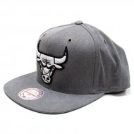 Chicago Bulls Snapback Overwashed Black | NBA | Mitchell...