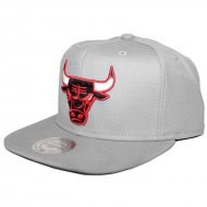 Chicago Bulls Snapback Wool Solid grey | NBA | Mitchell...
