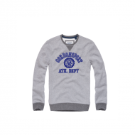 Cordon Sweater Stan Grau Blau