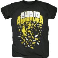 Fler - Audio Anabolika Pills Shirt schwarz